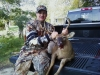 Childhood friend Brian Roger's with an 8pt buck.